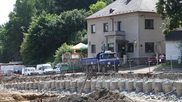 Práce na železničním koridoru v Ústí nad Orlicí pokračují.