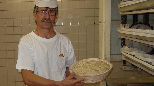 Sváteční chléb od Bohumila Kubíčka pro Pražský hrad.