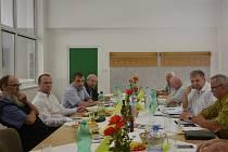 Zástupci Regionální agrární komory ČR a Pardubického kraje jednali v Nekoři