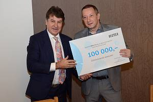 Ústecká společnost Rieter CZ opět podpořila nadační fond při Orlickoústecké nemocnici.