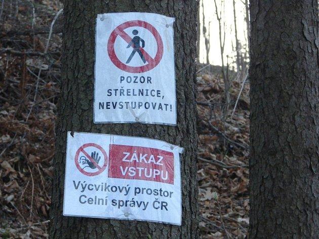 Výcvikový prostor celní správy Dolní Hedeč.