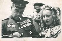 Fotografie z konce války.