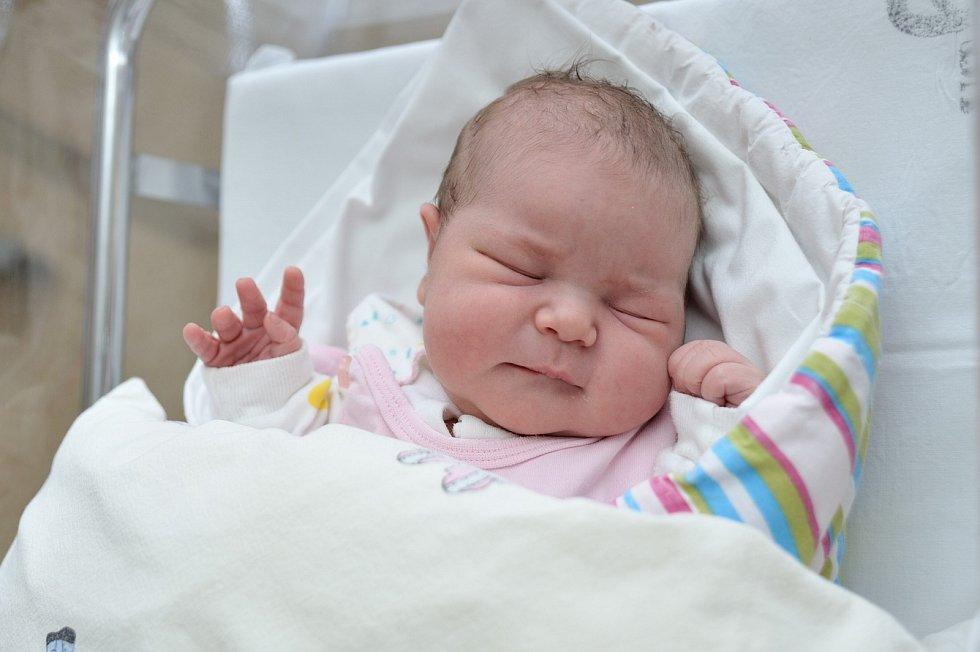 Hana Pleváková je první dcerou Hany a Jiřího z České Třebové. Na svět si 14. dubna v 18.17 hodin přinesla 3,910 kg.
