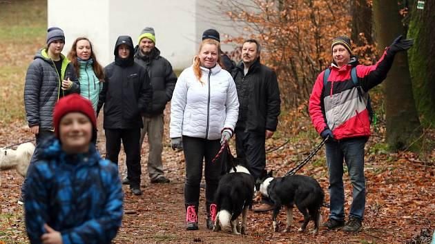 Jubilejní 20. ročník Novoročního výstupu na Andrlův chlum připravil na Nový rok Klub českých turistů.