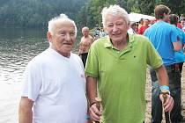 Jiří Hovádek (na snímku vlevo) a Vladivoj Stejskal.