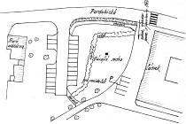 Plánek nového parkoviště v Chocni.