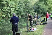 Rybářské závody O pohár starosty města Choceň.