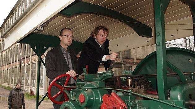Muzeum starých strojů navštívil hejtman Martin Netolický.