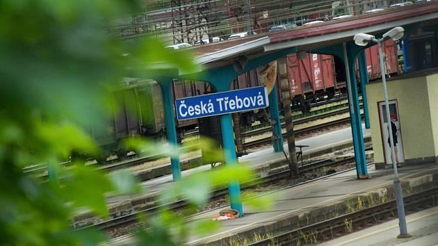 Zelezniční nádraží v České Třebové. Foto: archiv deníku