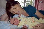 Richard Stejskal rozšířil rodinu Pavly a Davida z Letohradu. Při narození 3. 6. ve 3.24 hodin vážil 3,500 kg. Bráška se jmenuje Páťa.