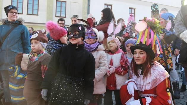 V Jablonném nad Orlicí se v sobotu uskutečnil v pořadí pátý ročník celodenní masopustní veselice.