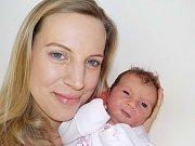 Tereza Palcerová je po Karolínce druhou holčičkou Pavlíny a Víta z Lanškrouna. Při narození 3. 2. v 23.22 hodin vážila 3030 g.