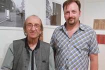Martin Vídenský (vpravo) s Mirkem Kováříkem.