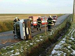 Dopravní nehoda v Koldíně.