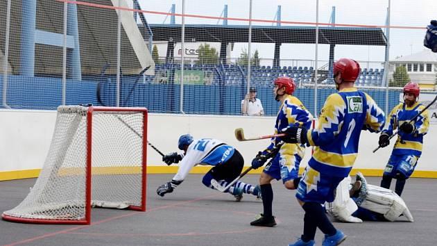 Extraliga hokejbalistů: SK Hokejbal Letohrad - TJ Kovo Praha.