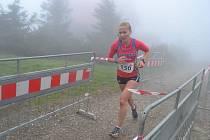 Michaela Stránská vyhrála běh na Lysou horu.
