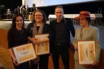 Z výhlášení výsledků soutěže Biblioweb 2019 v Hradci Králové.