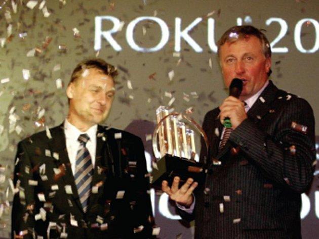 Pavel Juříček na snímku s Mirkem Topolánkem.