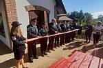 Ze slavnostního otevření hasičského minimuzea v Letohradu - Kunčicích. Foto: Petr Čada