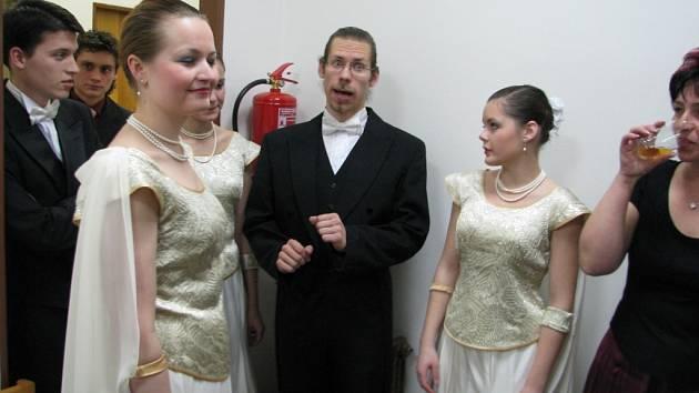 Valentýnský ples v Ústí.
