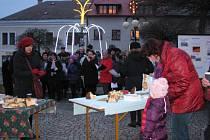 Buon Natale - Veselé Vánoce - na Starém náměstí v České Třebové.