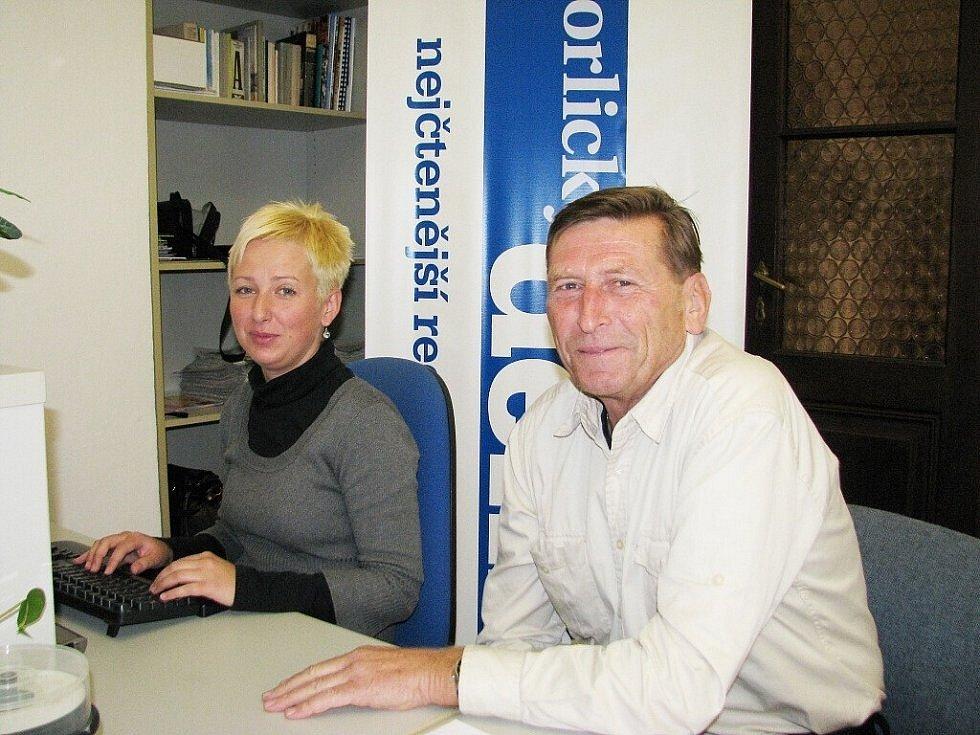 Augustin Karel Andrle byl v roce 2013 i hostem naší redakce