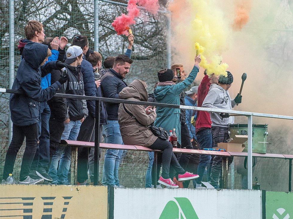 Česká fotbalová liga: TJ Jiskra Ústí nad Orlicí - TJ Sokol Živanice.