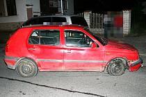 Řidič vozidla ujížděl v České Třebové policii.