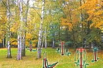 U Lanškrounských rybníků vznikne tělocvična v přírodě.