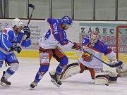 Krajská hokejová liga - čtvrtfinále play off: HC Kohouti Česká Třebová - HC Světlá nad Sázavou.