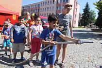V úterý se na veřejném prostranství Kociánka konal Den dobrovolnictví pro širokou veřejnost.