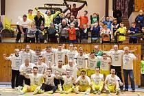 Nejlepší tým a nejlepší fanoušci. Nejzbach Vysoké Mýto slaví postup do první ligy.