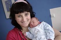 Matěj Březina je prvním dítětem manželů Stanislavy a Luďka z Chocně. Narodil se 18. listopadu v 9.16 hodin a vážil 3,39 kg.