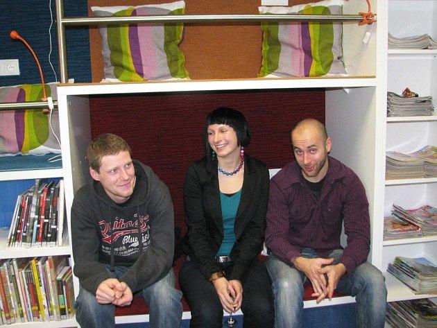 Otevření Teenspace se zúčastnila i architektka Lucie Jüthnerová.
