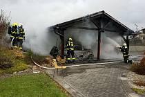 Škodu za více než milion korun způsobila nejspíš technická závada