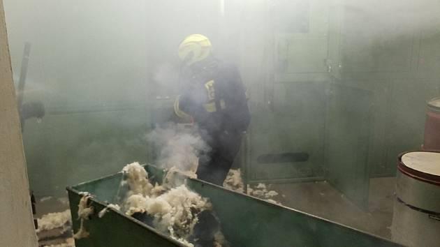 V přádelně hořelo po roce podruhé.