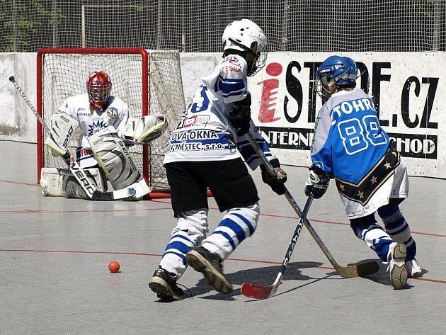 Mladší žáci Letohradu díky dvěma výhrám proti Ježkům z Heřmanova Městce obsadili celkově pátou příčku.