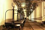 Podzemí tvrze Hůrka.