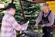Zahrádkářský víkend, který se o víkendu uskutečnil ve Venclově zahradnictví v Letohradě.
