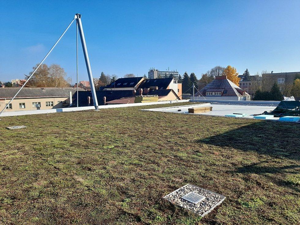 Nově budovaný Dům dětí a mládeže v Ústí nad Orlicí bude mít zelenou střechu