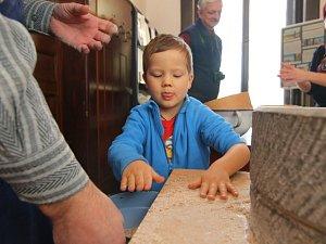 První dílna v ústeckém muzeu patřila mletí obilí.
