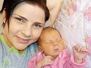 Valentýna Kajzrlíková je po Danielovi a Tomášovi první holčička Lucie a Aleše z Chocně. Narodila se s váhou 3330 g dne 27. 1. v 3.17 hodin.