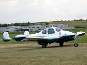 Slet ultralehkých letadel v Chocni.