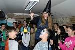 Halloween na Základní škole v Klášterci nad Orlicí.