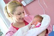 Kateřina Hermanová dělá radost rodičům Haně a Radkovi z Ústí nad Orlicí. Na svět přišla 1. 3. v 5.30 hodin, kdy vážila 3,5 kg. Doma se na ni těší i sourozenci Anička a Eliška.
