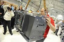 V OEZ Letohrad byla otevřena nová výrobní hala.