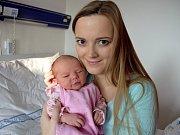 Eliška Šrámková je prvním dítětem Moniky a Michaela z Lanškrouna. Narodila se 4. 12. v 15.17 s váhou 3,580 kg.