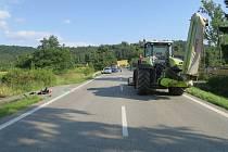 Policie hledá svědky dopravní nehody. FOTO: POLICIE ČR
