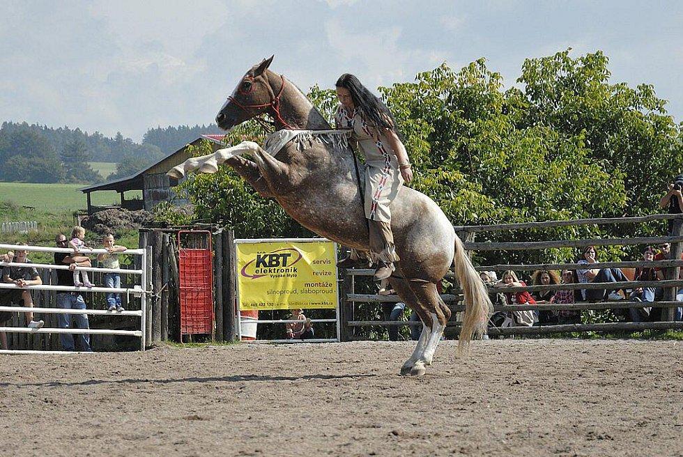 Rodeo v Libchavách.