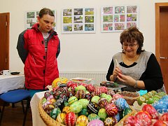 Velikonoční výstava v ústecké Galerii pod radnicí.